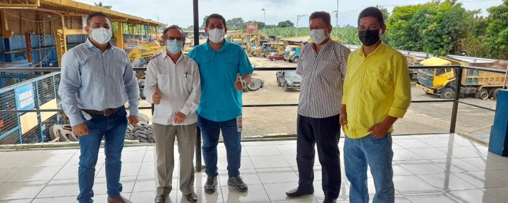 El Gad Parroquial y comunidad hemos venido coordinando acciones unidos, agradecemos el gran apoyo que nos estará prestando el Ing. Clemente Bravo.